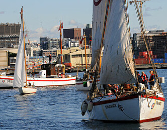 «Stavanger» på plass på Bygdøy