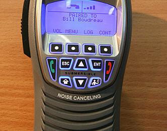 Håndsett for mobilen