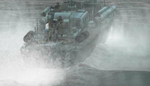 Båtsimulator med trøkk
