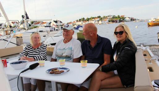 – Det er Lyngør og Bergen!