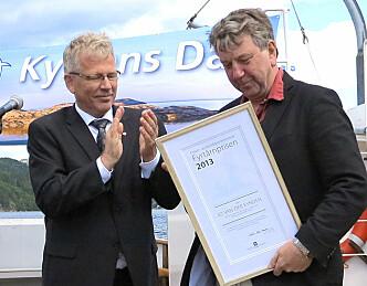 Fyrtårnprisen til Jo van der Eynden