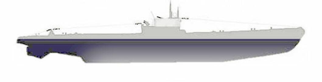 Ny ubåt funnet ved Fedje
