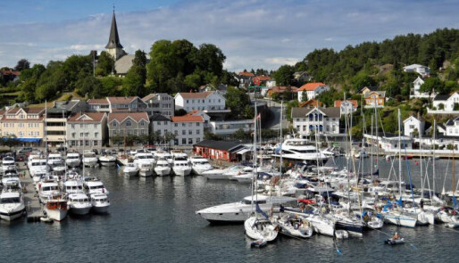 Grimstad-messe i mai