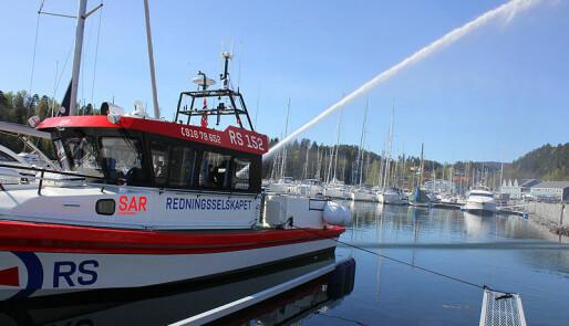 Havnedåp med ordfører og ny redningsskøyte