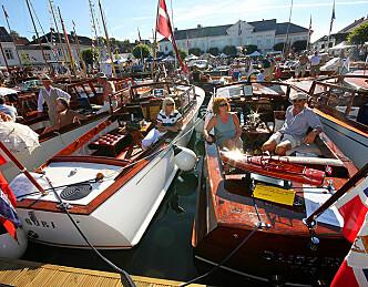 Dag Lindebjerg åpner rekordstor trebåtfestival