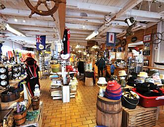 Clipper-mannskapet på shopping hos Basen