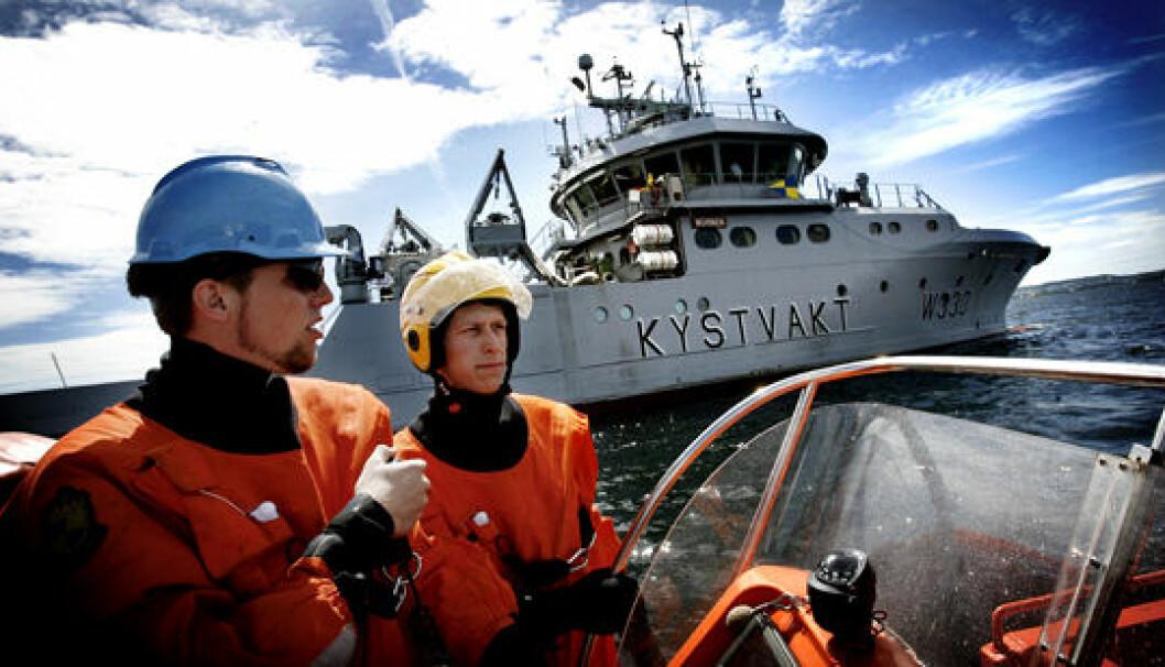 Statsbudsjettet: Senker kystvaktberedskapen i sør