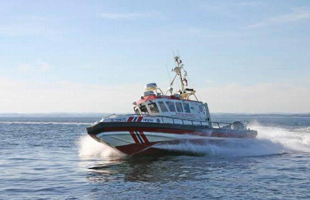 Fagforening gir 8,5 mill til ny redningsskøyte