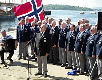 Minnemarkering for omkomne båtfolk