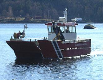 Ny skjærgårdsbåt i Tvedestrand