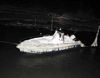Kystvakten reddet nedsnødd båt