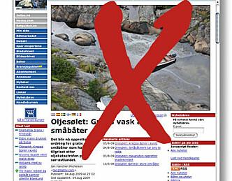 Oljesølet: Kansellerer tilbud om gratisvask