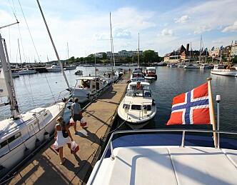 Nær én million fritidsbåter  i Norge