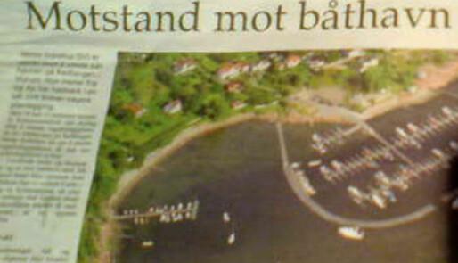 Motstand mot Hurum-båthavn