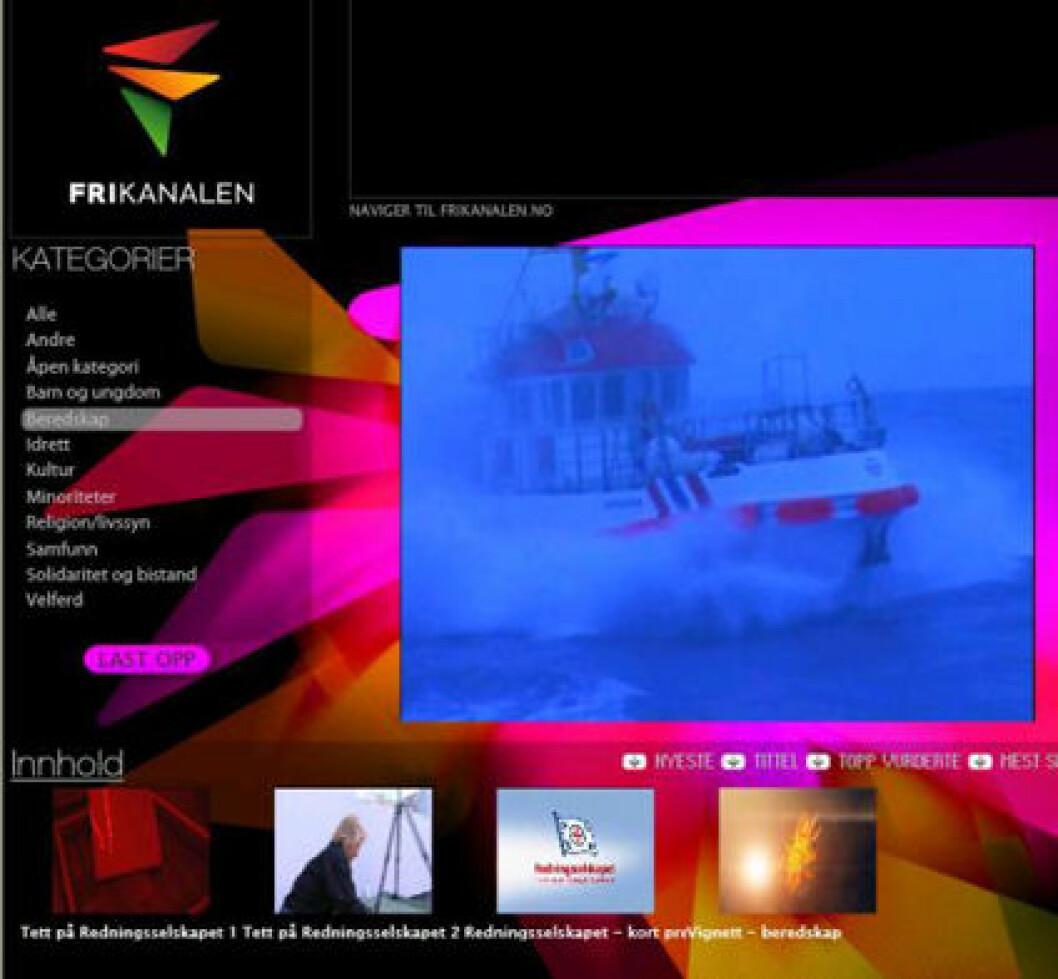 Redningsselskapet på luften med «egen» tv-kanal