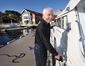 Helårsåpent for båtfolket  i Vollen