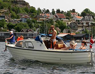 Båtmesse med sydenstemning