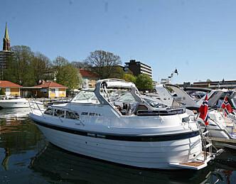 Sommerlig båtmesse i Tønsberg