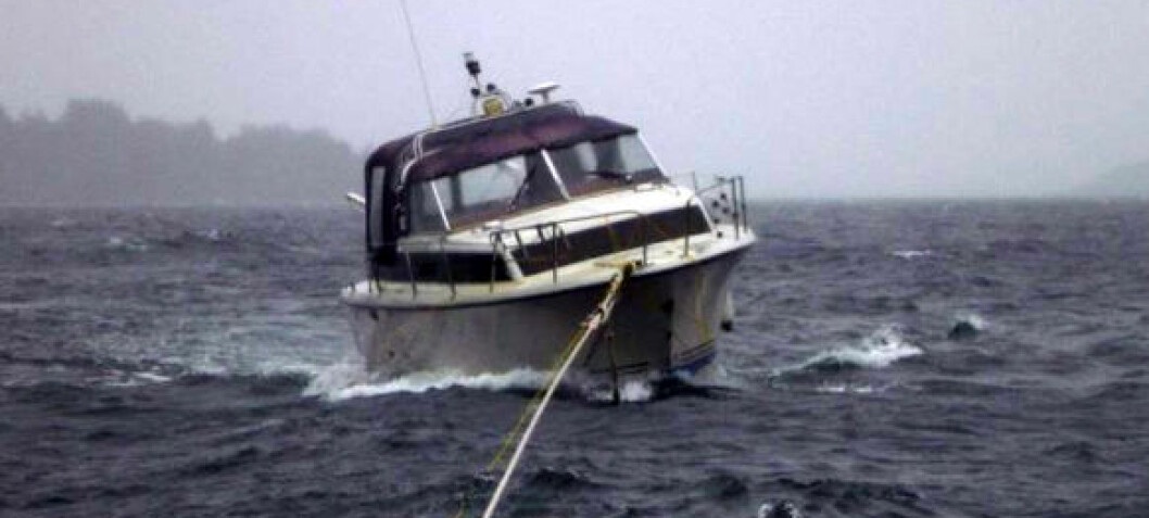 Reddet to båter på to timer
