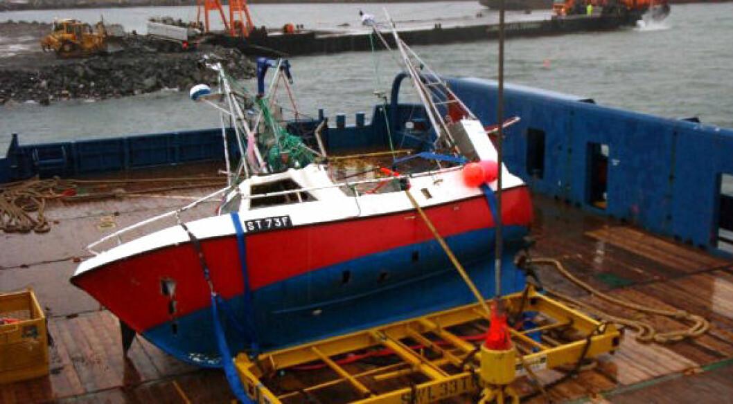 Rapport etter sjarkforlis: Sank med åpen luke