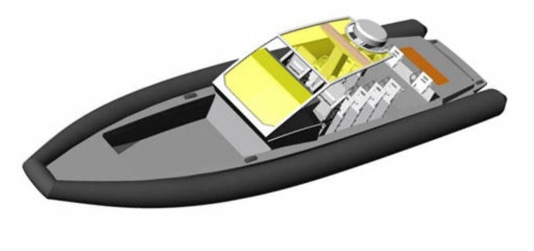 Dødsulykke med en av forsvarets  Goldfishbåter