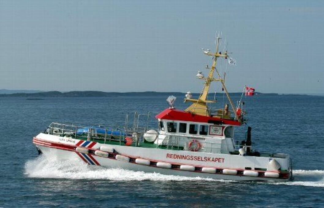 Redningsskøyta skadet båter i Bodø