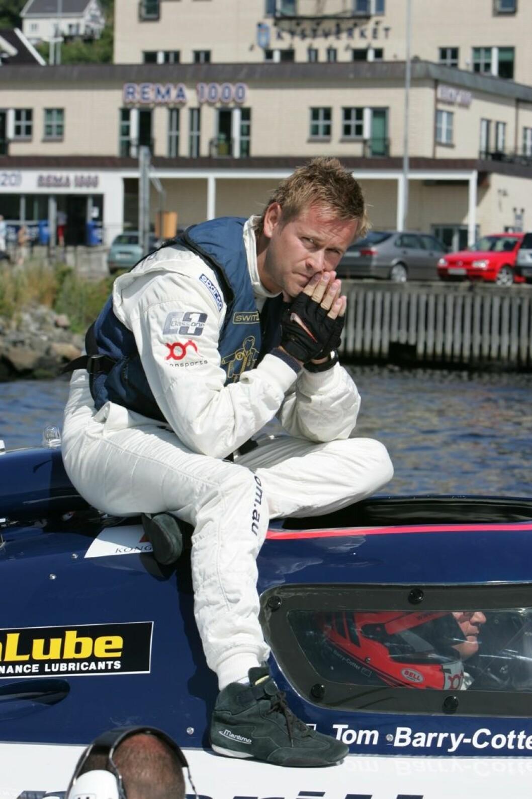 Nordmann kjører for Victory