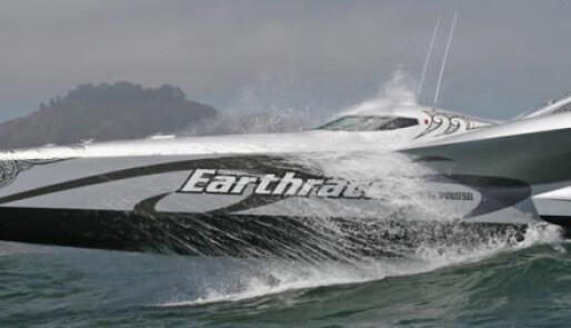 Earthrace til Arendal