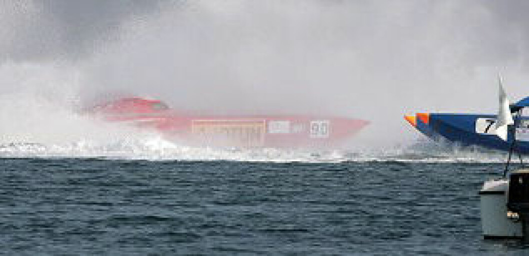 Wppa Class 1 World Powerboats Championship - Round 6 Qatar Grand Prix -  Doha 15 to 17 November 2007 race dayPhoto:Simon Palfrader©