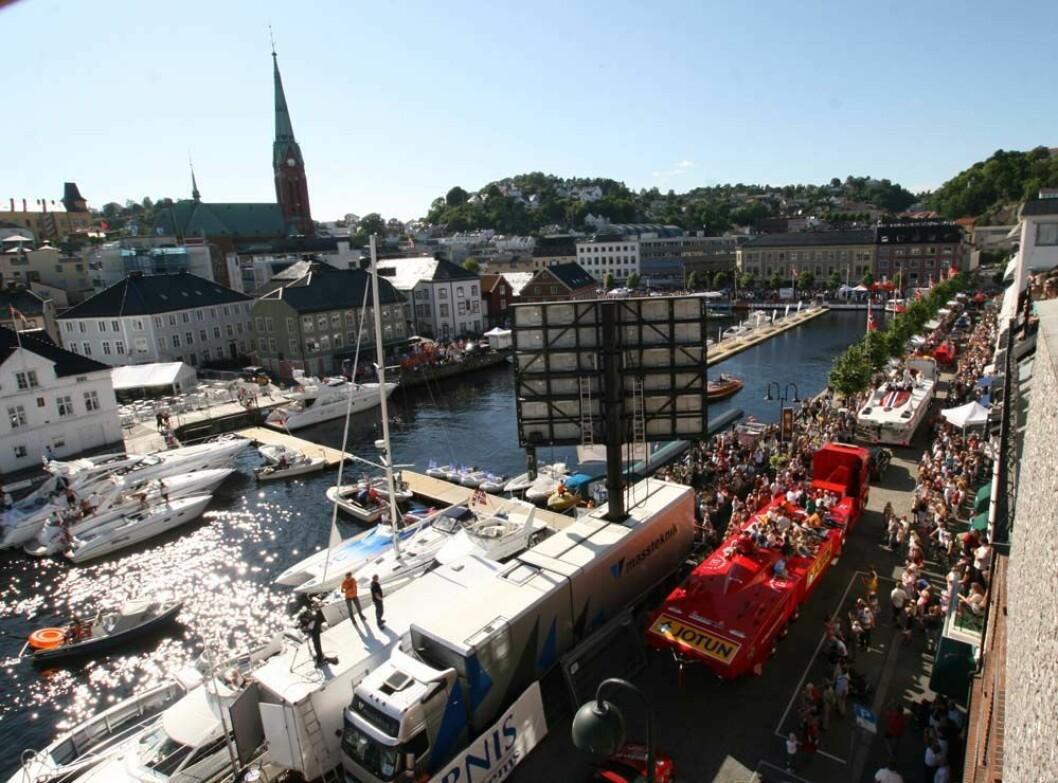Offshorefesten i Arendal i gang