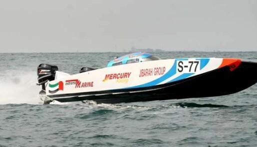 Dubaidebut for Christian Zaborowski i ny båt