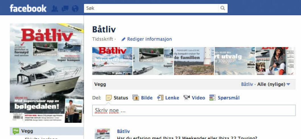 5000 liker Båtliv på Facebook
