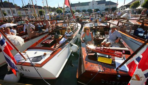 Fullbooket trebåtfestival i Risør