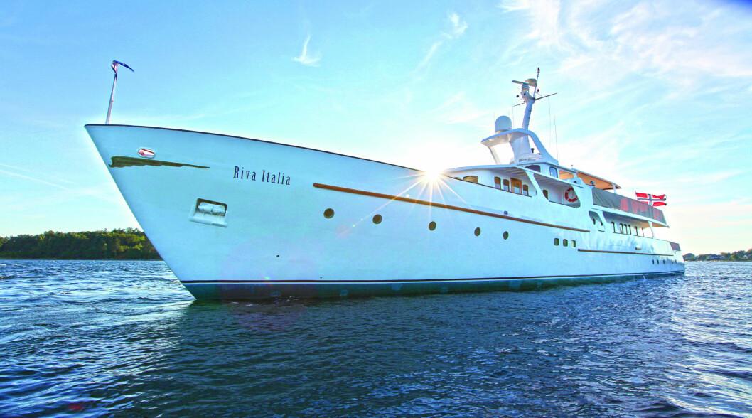 Rivende utvikling: Denne Rivaen har de siste årene blitt pusset opp for mange millioner kroner, men skal man kjøpe en tilsvarende ny og moderne båt blir det langt dyrere.