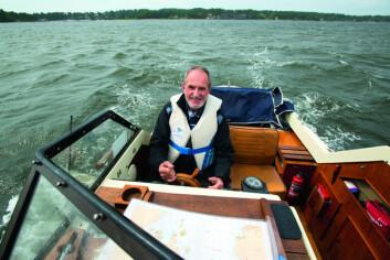 PÅ SNEKKETUR: Båtliv ble med Jon Michelet på tur med snekka.