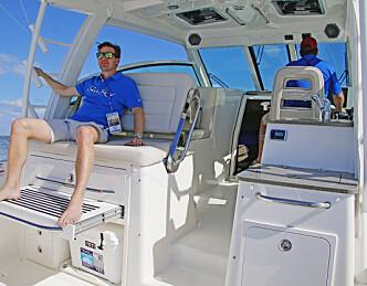 Røff båt med mange køyer