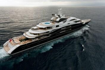 NEST BEST: «Serene» er designet av nordmannen Espen Øino og kan leies for 40 millioner kroner i uken.