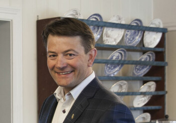 DAMP: Direktør Simen Bjørgen i Norsk Kulturminnefond står bak friske millioner til dampskipet.
