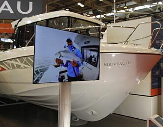 Ny styrehusbåt på åtte meter
