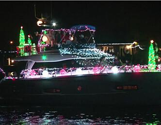 Her cruiser båtene for julen