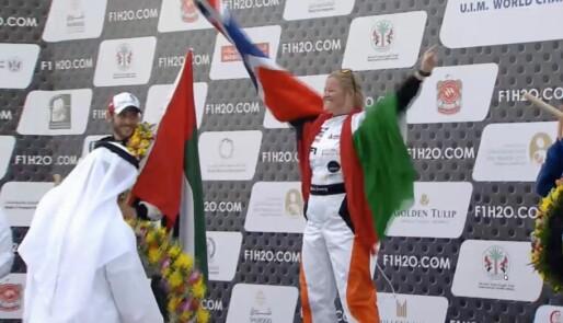 Historisk seier i F1