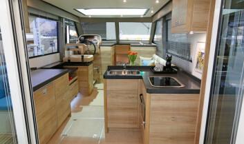 VANT: Boarncruiser Elegance 1200 vant i klassen for deplasementbåter.