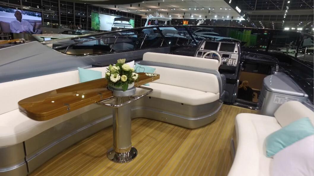 RIVA: 63 Virtus er Rivas største åpne yacht.