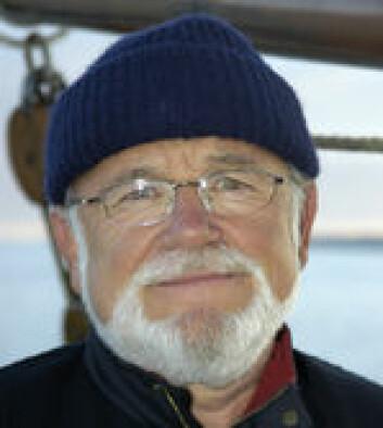 Tidligere kommunikasjonssjef i Redningsselskapet, Ingvar Johnsen.