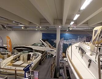 Storbåtmesse med 60 båter