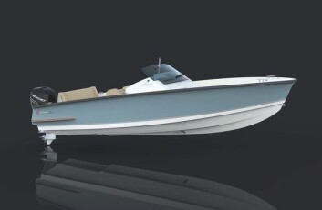 OGSÅ UTENBORDS: Cormate 24 leveres også med utenbords.