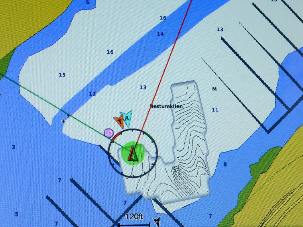 GARMIN: QuickDraw lar deg tegne opp dybdedata på kartet etter modell fra Sonar Charts Live. Systemet fungerer på nyere utstyr og krever kun programvare oppdatering, og at du har et ekkolodd.