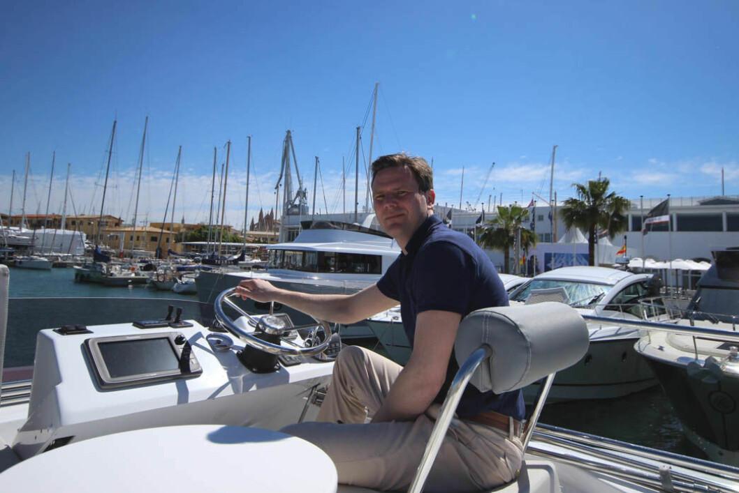 Marius Kragstad som eier Kragstad AS tar over salget av Beneteau motorbåter med innenbordsmotor.