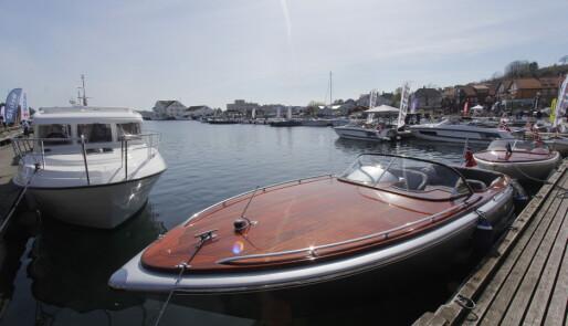 Nytt og gammelt på Sørlandets Båtmesse