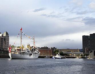 Yachten som ble krigsskip og kongeskip
